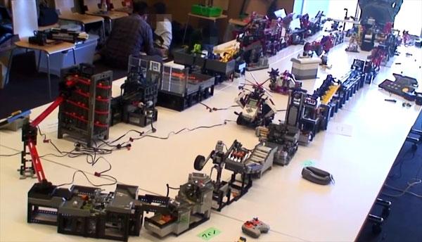 Great Ball Contraption: LEGO voor gevorderden