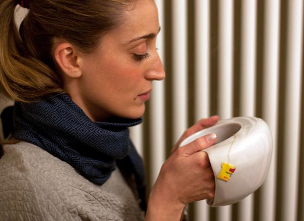 ToastyMug: mok voor mensen met koude handen