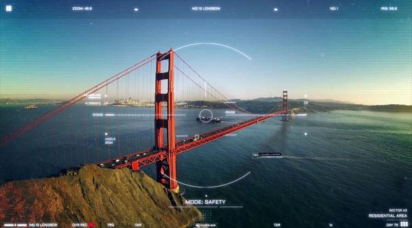 Een futuristische video over een toekomst met politie-drones