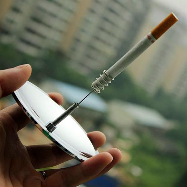 Een sigaret aansteken was nog nooit zo omslachtig