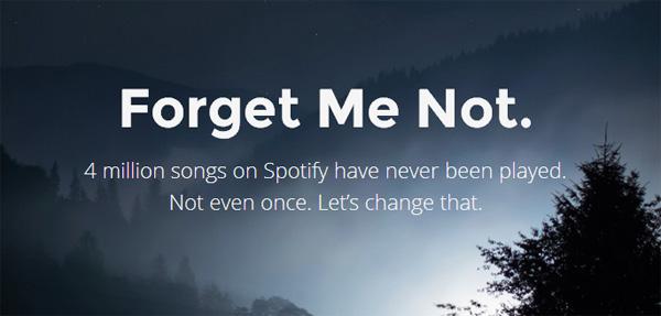 Forgotify laat je nog nooit beluisterde liedjes op Spotify horen