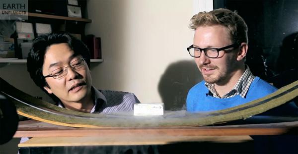 Bijzonder om te zien: quantum levitation in slow-motion