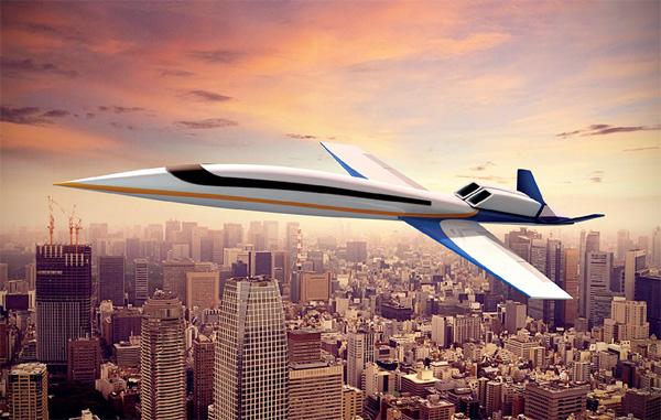 Dit supersonische vliegtuig brengt je in drie uur van Amsterdam naar New York