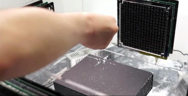 Japanse wetenschappers laten objecten zweven met behulp van geluid