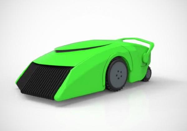 EcoMow: een grasmaaimachine die werkt op gras