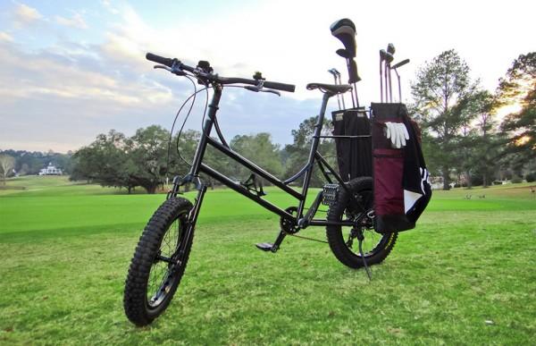 Golf Bike: voor de milieubewuste golfer