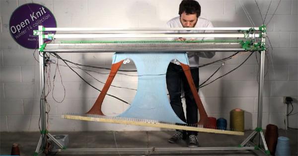 OpenKnit: een printer voor kleding