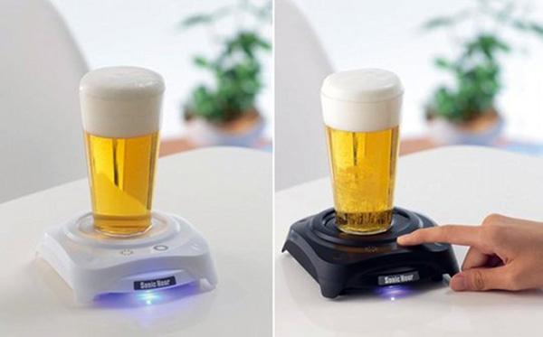 Sonic Foamer: nooit meer een dood biertje