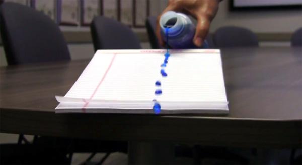 Wonderlijk: een hydrofobe coating in combinatie met alledaagse objecten