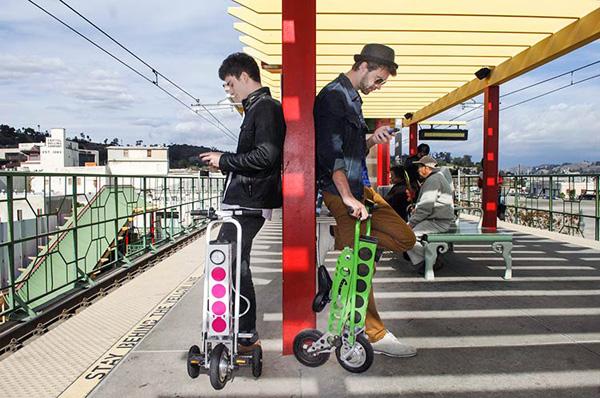 Urb-E: een opvouwbare elektrische scooter