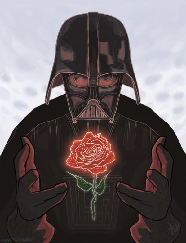 Valentijnskaarten voor geeky koppels
