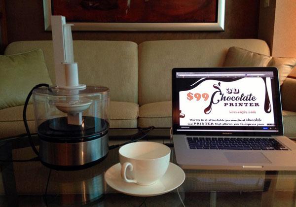 ChocaByte: een 3D-printer voor chocola voor minder dan 75 euro