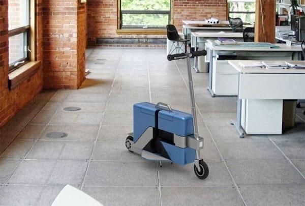 Commute Case: een elektrische scooter vermomd als koffer
