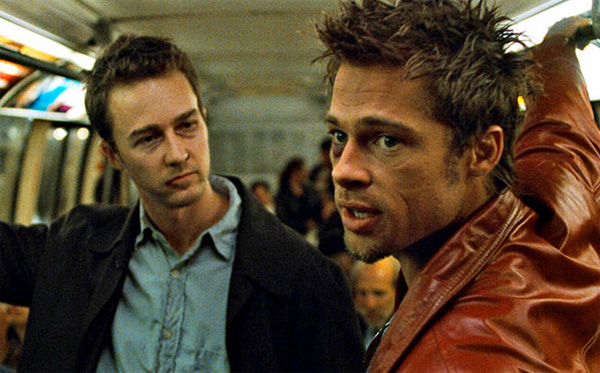David Fincher's Fight Club als 16 bit computerspel