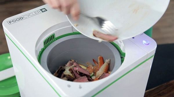 Food Cycler maakt razendsnel gratis compost van voedselresten