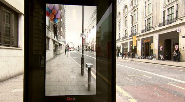 Schrikken in de bushalte dankzij deze interactieve advertentie