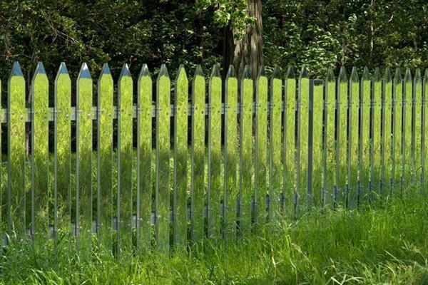 Mirror Fence: een (bijna) onzichtbaar hek