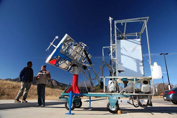 Sol-Char toilet verandert uitwerpselen in mest met zonne-energie