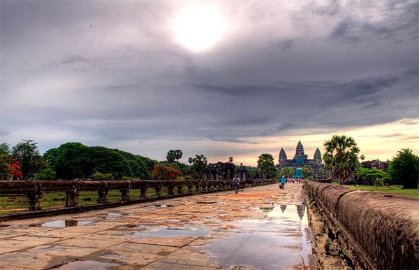 Maak een virtuele wandeling door Angkor Wat met Google Street View