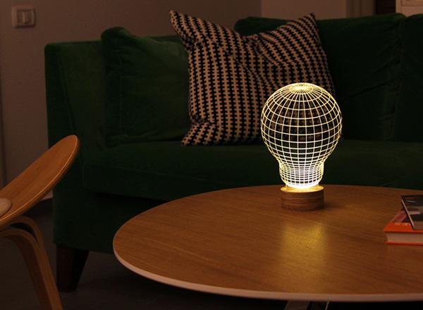 Bulbing: een LED-lamp die je ogen voor de gek houdt