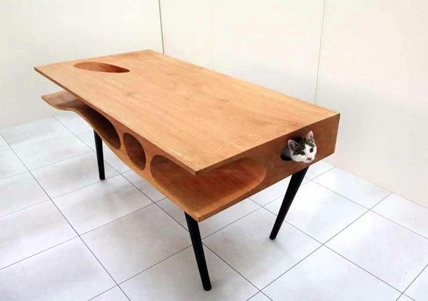 CATable: de tafel die jouw kat laat spelen terwijl jij werkt