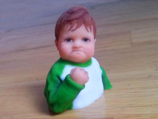 Wereldberoemde internetmemes als speelgoed uit de 3D-printer