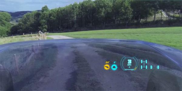 Kan een doorzichtige motorkap autorijden veiliger maken?