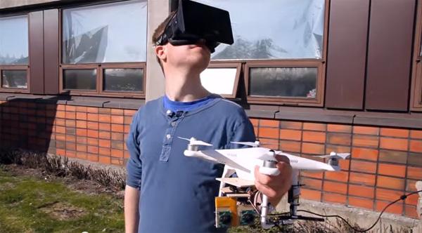 Met Oculus FPV kun je ervaren hoe het is om een vogel te zijn