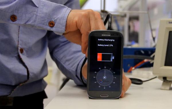 Vanaf 2016 laden we onze smartphones op in 30 seconden