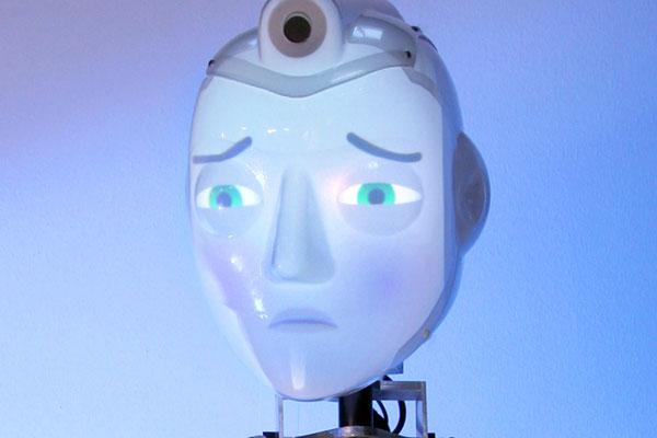 Socibot: de robot met een geprojecteerd gezicht