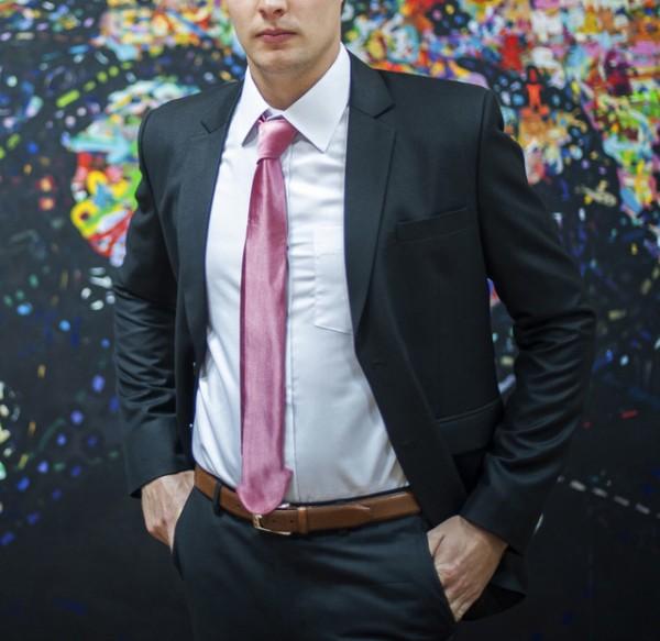Met deze stropdas kun je beter niet op je werk aankomen