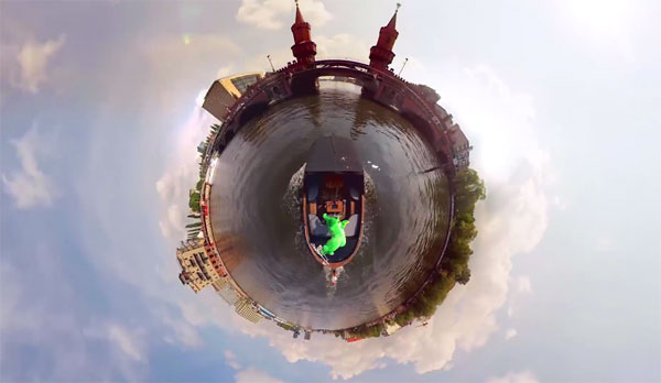 Planet Berlin: een rondje Berlijn in 360 graden