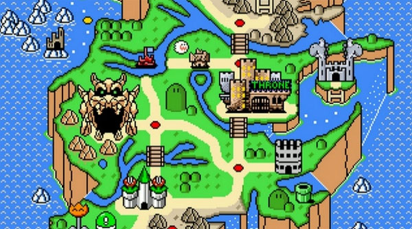Game of Thrones en Super Mario