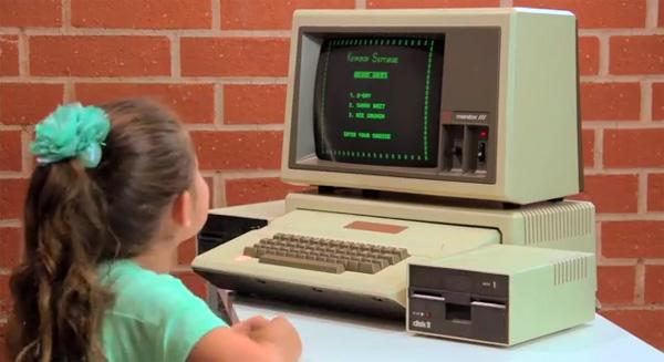 Wat kinderen denken van oude computers