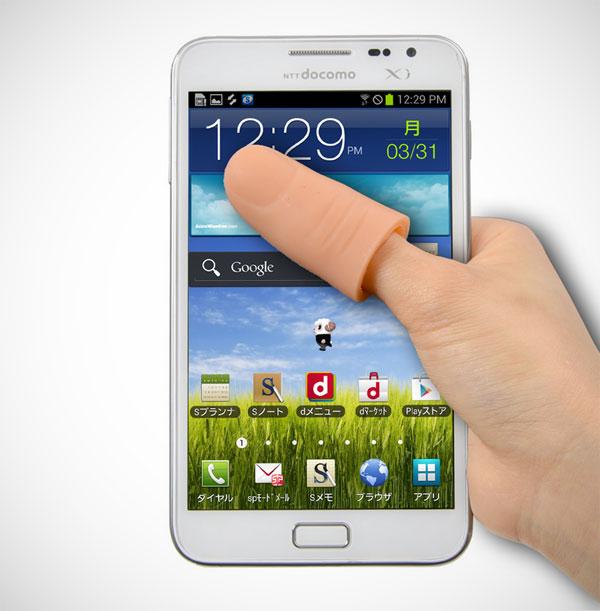 Met deze belachelijke duim bereik je de hoeken van je smartphone