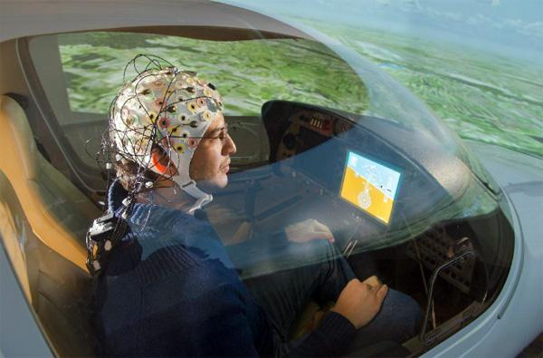 Projekt Brainflight: een vliegtuig dat je bestuurt met je hersenen