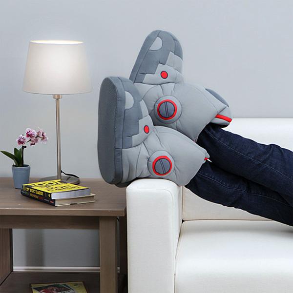 Gaaf! Robotsloffen met ingebouwde geluidseffecten