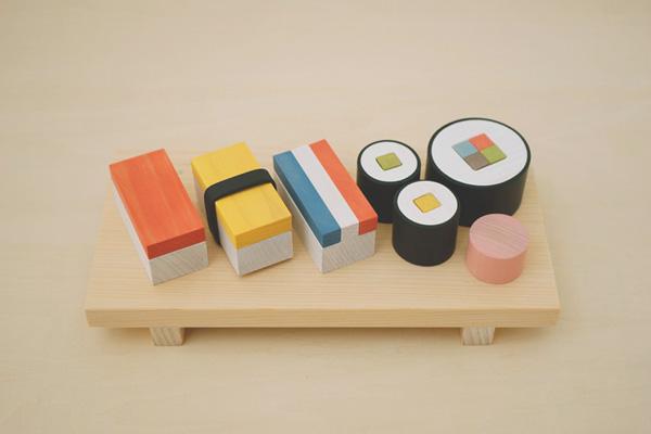 Geweldige houten set doet kinderen én volwassenen verlangen naar sushi