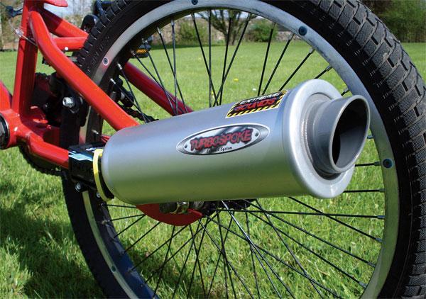 Turbospoke Laat Je Fiets Klinken Als Een Viertakt Motor