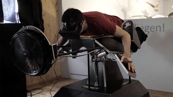 Deze machine laat je vliegen als een vogel