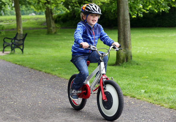 Jyrobike: zelfbalancerende fiets die kinderen laat fietsen zonder zijwieltjes