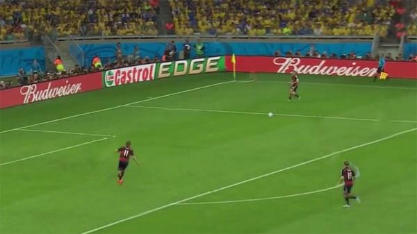 Dankzij videobewerking is het plotseling heel duidelijk waarom Duitsland Brazilië verpletterde