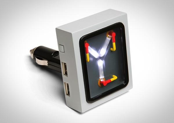 Flux Capacitor USB-autolader