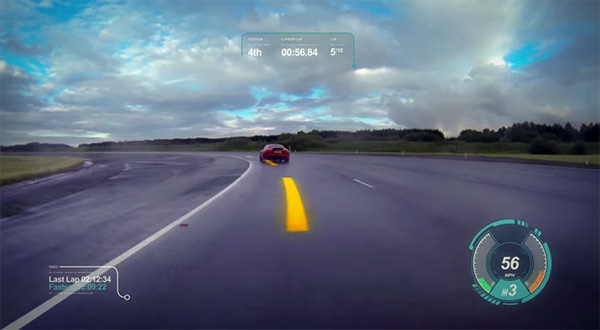Virtual Windscreen: virtual reality op je voorruit