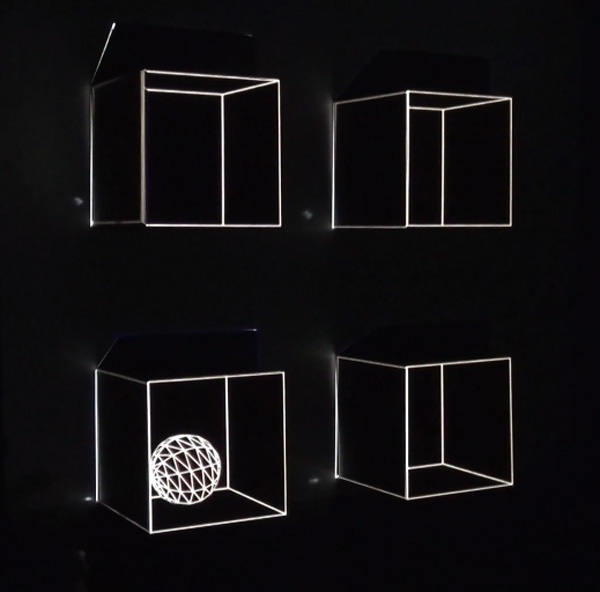 Portal: minimalistische projection mapping