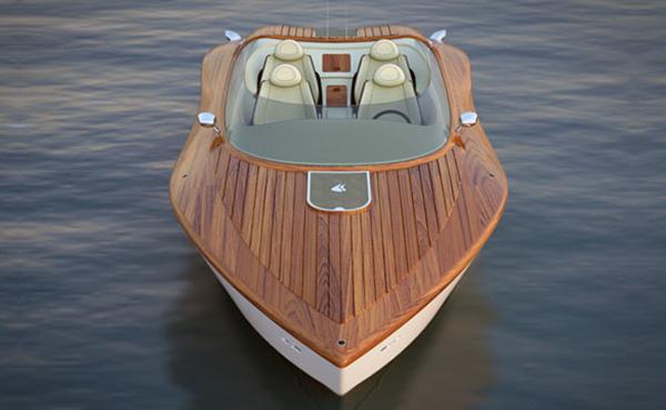 Spijtig genoeg is deze pijlsnelle powerboat slechts een concept