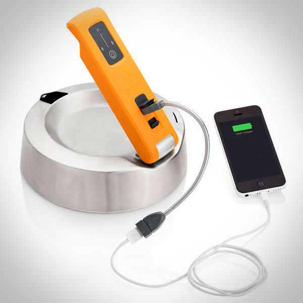 BioLite Kettlecharge laadt je smartphone op met kokend water