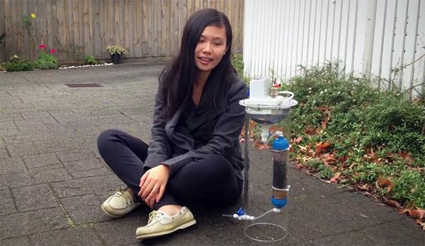 Deze briljante 17-jarige vindt een methode uit om water te zuiveren én elektriciteit op te wekken