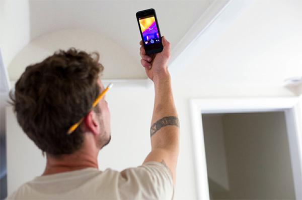 Met de Flir One infrarood iPhone case kun je door muren kijken