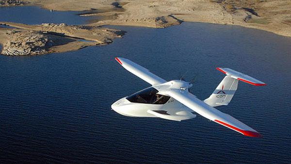 Icon A5: een sportvliegtuigje voor in je garage